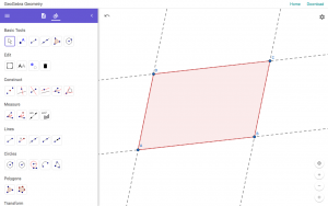 GeoGebra Geometry Web App