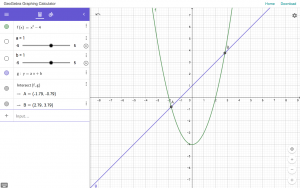 GeoGebra Graphing Calculator Web App