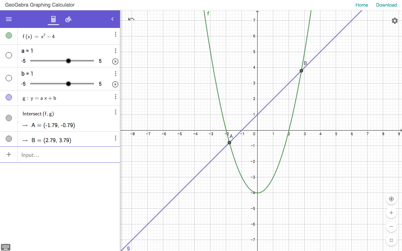 worksheet Graphing Pictures new geogebra graphing calculator and geometry apps blog web app
